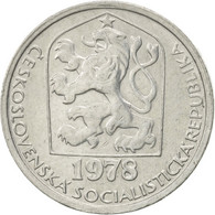 Tchécoslovaquie, 10 Haleru, 1978, SUP, Aluminium, KM:80 - Czechoslovakia