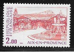 TIMBRE N° 2194 - NEUF  -  AIX EN PROVENCE   -   1982 - France