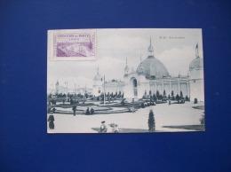 Carte Postale Ancienne De Nantes: Exposition De Nantes 1904-N° 18 Les Jardins- Timbre-vignette De L'Expo - Nantes