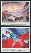 Grenade  Grenadines ** 2 Blocs  - Chagall - - Grenade (1974-...)