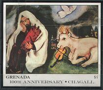 Grenade  **  Bloc  167 - Chagall - Solitude - Grenade (1974-...)