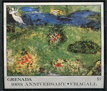 Grenade  **  Bloc  165 - Chagall - Le Verger - Grenade (1974-...)