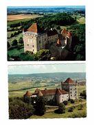 Lot 2 Cpm - 39 - Château De PIN - Jura - TOUR - Other Municipalities
