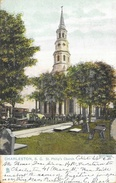 Charleston South Carolina (SC) - St Philip's Church - Raphael Tuck & Sons - Charleston