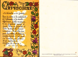 Capricorne - Editions André Barthélémy - Astrologie