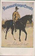 Von Lettow Vorbeck, Kolonial-Krieger-Spende, Postkarte, Großenhain, Weltkrieg 1914-18, Militaria - Guerre 1914-18