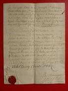 MANUSCRIT AUTOGRAPHE MICHEL PONCET DE LA RIVIERE COMTE D UZÈS  1715 EVEQUE D UZES - Historische Dokumente