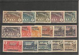 Congo _  Surchargé A.E.F.  Série N°1/16 (1936 ) - Autres