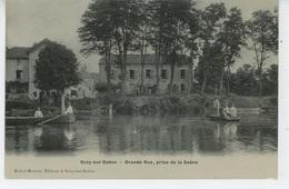 SCEY SUR SAONE - Grande Rue, Prise De La Saône - France