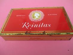 Boite Métallique Ancienne/Cigarillos  /Reinitas/Bresil Extra / Régie Française Des Tabacs/ Vers 1970 -1980      BFPP141 - Boxes