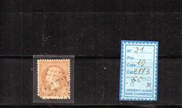 FRANCE - N°21 (GC 2173) Maisons Sur Seine - 1849-1876: Période Classique