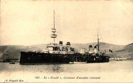 """Le """"Condé"""" - Croiseur D'Escadre Cuirassé - Warships"""