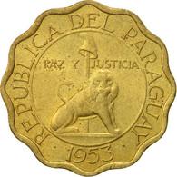 Paraguay, 15 Centimos, 1953, TTB+, Aluminum-Bronze, KM:26 - Paraguay