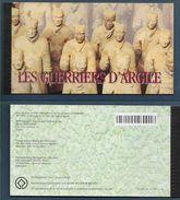 1997 NATIONS UNIES GENEVE C342** Carnet De Prestige Chine , Guerriers D'argile, Patrimoine Mondial - Carnets