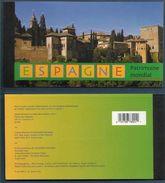 2000 NATIONS UNIES GENEVE C417** Carnet De Prestige Espagne , Patrimoine Mondial - Carnets