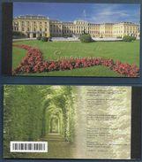 1998 NATIONS UNIES GENEVE C372  Carnet De Prestige Autriche Schönnbrunn, Patrimoine Mondial, Oblitéré Premier Jour - Carnets