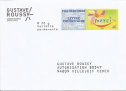"POSTREPONSE "" GUSTAVE ROUSSY "" Neuf ( Repiquage Merci 13P371 ) - Entiers Postaux"