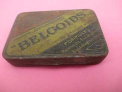 Boite Métallique Ancienne/Médicament/ Pastilles Pour La Gorge/BELGOÏDS/ Suc De Réglisse/Belge/Vers 1930   BFPP134 - Scatole