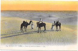 ALGERIE - SCENES Et TYPES - Dunes De Sable Du Sahara - LYO86 - - Algérie