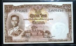 Thailand Banknote 10 Baht Series 9 Type 6 P#76d SIGN#41 UNC - Thailand