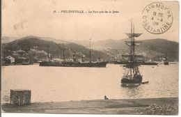L103A823 - Skikda - Philippeville - Le Port Pris De La Jetée  - C.Matarèse - N°38 - Skikda (Philippeville)