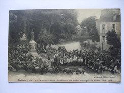 FRANCE - Tinteniac - Monument Eleve A La Memoire Des Soldats Morts Pour La France 1914 - 1918 - France