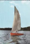 58---LES SETTONS---voilier Sur Le Lac--voir 2 Scans - Autres Communes