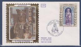 = Principauté D'Andorre Vierge De Canòlich Enveloppe 1er Jour Andorre La Vieille 16.6.73 N°228 - FDC