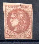 FRANCE - 1870 - YT N° 40B - Neuf Sg - Cote: 200,00 € (DF) - 1870 Bordeaux Printing