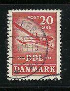 DENMARK Dänemark 1943 Michel 280 Flugzeug Air Plane O - Avions