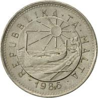 Malte, 5 Cents, 1986, TTB, Copper-nickel, KM:77 - Malte