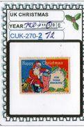 UNITED KINGDOM:CHRISTMAS# SEALS #CINDERELLAS# (CUK 270-2 (12) - Werbemarken, Vignetten