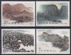 China MiNr. 2665/68 ** Songshan-Gebirge - Ungebraucht