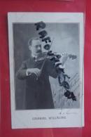 Cp  Gabriel Willaume Dedicassé - Musique