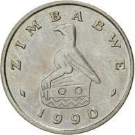 Zimbabwe, 5 Cents, 1990, TTB, Copper-nickel, KM:2 - Zimbabwe