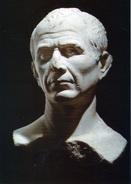 JULES CESAR : Buste En Marbre Daté Du 1er Siècle Avant J.-C. (retiré Du Rhône à Arles Lors Des Fouilles De La DRASS) - Arles