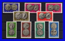 1963 - Grecia - Sc 750-758 - MNH - GR-053 - Greece