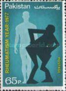 PAKISTAN MNH** STAMPS , 1977 World Rheumatism Year - Pakistan