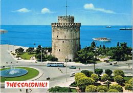 25021. Postal TESSALONICA (Grecia), La Torre Blanca - Grecia