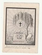 Doodsprentje Joannes Baptista VALCKE Ostende Oostende 1844 ( Voorkant Doodskop) - Andachtsbilder