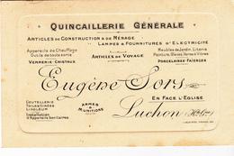 31 - LUCHON  - Quincaillerie Générale - Eugène Sors - Luchon