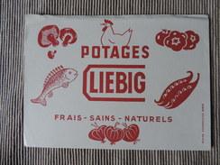 Buvards -Buvard - Liebig - Potages Frais Sains Naturels - Alimentaire