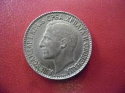 SERBIE @ 2 DINAR 1925 Alexander 1 - Yougoslavie @ Atelier De Frappe France : Poissy - Serbie