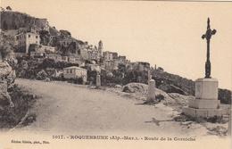 Roquebrune - Route De La Corniche - Roquebrune-Cap-Martin