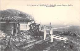 EVENEMENTS Catastrophes - 55 - THIAUMONT : L'Ouvrage Détruit ( Au Fond Route De Fleury Et Ste Fine ) - CPA - Rampen
