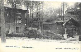 CPA / AK / PK   - COURT- SAINT- ETIENNE  Villa Suzanne - Court-Saint-Etienne