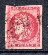FRANCE - 1870 - YT N° 49  - Cote: 320,00 € (DF) - 1870 Bordeaux Printing