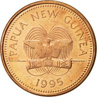 Papua New Guinea, 2 Toea, 1995, SUP, Bronze, KM:2 - Papouasie-Nouvelle-Guinée
