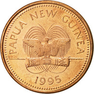 Papua New Guinea, 2 Toea, 1995, SUP, Bronze, KM:2 - Papoea-Nieuw-Guinea
