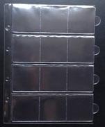 10 Pochettes à Tirettes (12 Cases)- NEUF / 10 Hoezen Met Rits (12 Vakken)- NIEUW - Matériel